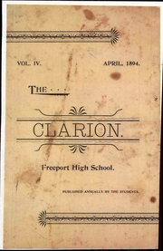 Freeport High School - Clarion Yearbook (Freeport, ME) online yearbook collection, 1894 Edition, Page 1