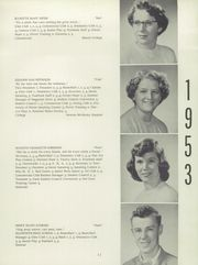 Page 15, 1953 Edition, Mount Desert High School - Skipper Yearbook (Northeast Harbor, ME) online yearbook collection