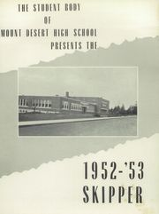 Page 5, 1953 Edition, Mount Desert High School - Skipper Yearbook (Northeast Harbor, ME) online yearbook collection