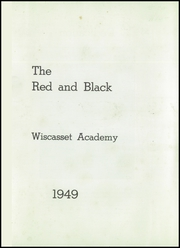 Page 3, 1949 Edition, Wiscasset High School - Warrior Yearbook (Wiscasset, ME) online yearbook collection