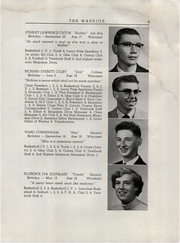 Page 11, 1955 Edition, Wiscasset High School - Warrior Yearbook (Wiscasset, ME) online yearbook collection