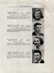 Page 13, 1955 Edition, Wiscasset High School - Warrior Yearbook (Wiscasset, ME) online yearbook collection