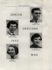 Page 9, 1955 Edition, Wiscasset High School - Warrior Yearbook (Wiscasset, ME) online yearbook collection
