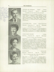 Page 10, 1959 Edition, Wiscasset High School - Warrior Yearbook (Wiscasset, ME) online yearbook collection