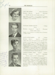 Page 12, 1959 Edition, Wiscasset High School - Warrior Yearbook (Wiscasset, ME) online yearbook collection