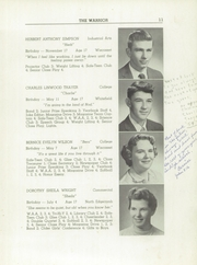 Page 13, 1959 Edition, Wiscasset High School - Warrior Yearbook (Wiscasset, ME) online yearbook collection