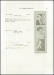 Page 13, 1930 Edition, Sumner High School - Spindrift Yearbook (East Sullivan, ME) online yearbook collection