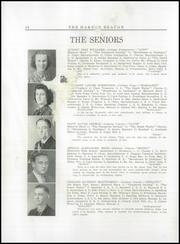 Page 16, 1938 Edition, Sumner High School - Spindrift Yearbook (East Sullivan, ME) online yearbook collection