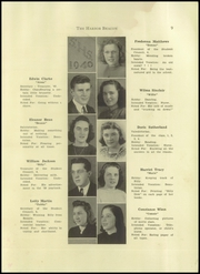 Page 11, 1940 Edition, Sumner High School - Spindrift Yearbook (East Sullivan, ME) online yearbook collection