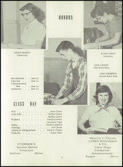 Page 17, 1954 Edition, Sumner High School - Spindrift Yearbook (East Sullivan, ME) online yearbook collection