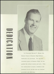 Page 7, 1954 Edition, Sumner High School - Spindrift Yearbook (East Sullivan, ME) online yearbook collection