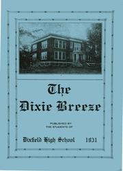 1931 Edition, Dixfield Regional High School - Dixie Blueprints Yearbook (Dixfield, ME)
