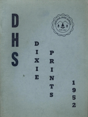 1952 Edition, Dixfield Regional High School - Dixie Blueprints Yearbook (Dixfield, ME)