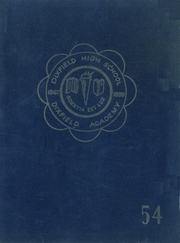 1954 Edition, Dixfield Regional High School - Dixie Blueprints Yearbook (Dixfield, ME)