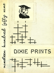 1959 Edition, Dixfield Regional High School - Dixie Blueprints Yearbook (Dixfield, ME)