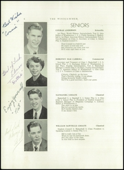 Page 8, 1950 Edition, Searsport High School - Windjammer Yearbook (Searsport, ME) online yearbook collection