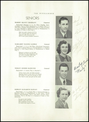 Page 9, 1950 Edition, Searsport High School - Windjammer Yearbook (Searsport, ME) online yearbook collection