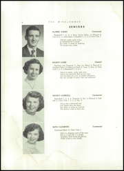 Page 10, 1955 Edition, Searsport High School - Windjammer Yearbook (Searsport, ME) online yearbook collection