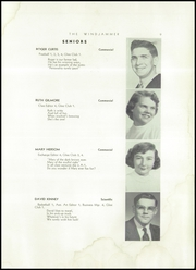 Page 11, 1955 Edition, Searsport High School - Windjammer Yearbook (Searsport, ME) online yearbook collection