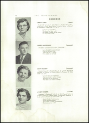 Page 12, 1955 Edition, Searsport High School - Windjammer Yearbook (Searsport, ME) online yearbook collection