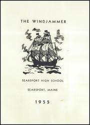 Page 3, 1955 Edition, Searsport High School - Windjammer Yearbook (Searsport, ME) online yearbook collection