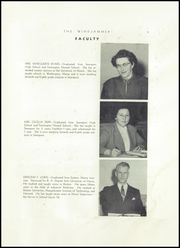 Page 7, 1955 Edition, Searsport High School - Windjammer Yearbook (Searsport, ME) online yearbook collection