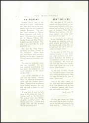 Page 8, 1955 Edition, Searsport High School - Windjammer Yearbook (Searsport, ME) online yearbook collection