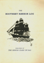 Page 1, 1941 Edition, Boothbay Region High School - Log Yearbook (Boothbay Harbor, ME) online yearbook collection