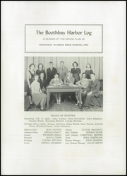 Page 4, 1941 Edition, Boothbay Region High School - Log Yearbook (Boothbay Harbor, ME) online yearbook collection