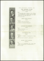 Page 5, 1941 Edition, Boothbay Region High School - Log Yearbook (Boothbay Harbor, ME) online yearbook collection