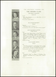 Page 7, 1941 Edition, Boothbay Region High School - Log Yearbook (Boothbay Harbor, ME) online yearbook collection