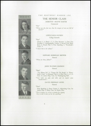 Page 8, 1941 Edition, Boothbay Region High School - Log Yearbook (Boothbay Harbor, ME) online yearbook collection