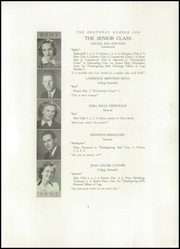 Page 9, 1941 Edition, Boothbay Region High School - Log Yearbook (Boothbay Harbor, ME) online yearbook collection