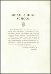 Page 9, 1930 Edition, Mexico High School - Pep Yearbook (Mexico, ME) online yearbook collection