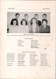 Page 10, 1945 Edition, Mexico High School - Pep Yearbook (Mexico, ME) online yearbook collection