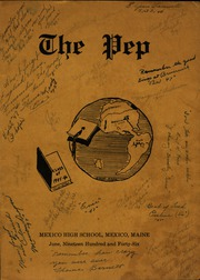 Page 1, 1946 Edition, Mexico High School - Pep Yearbook (Mexico, ME) online yearbook collection