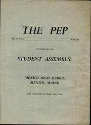 Page 3, 1946 Edition, Mexico High School - Pep Yearbook (Mexico, ME) online yearbook collection