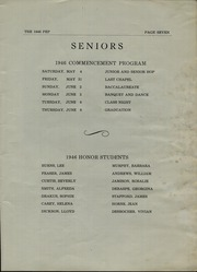 Page 9, 1946 Edition, Mexico High School - Pep Yearbook (Mexico, ME) online yearbook collection