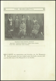 Page 5, 1930 Edition, Machias High School - Margaretta Yearbook (Machias, ME) online yearbook collection
