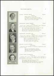 Page 11, 1937 Edition, Machias High School - Margaretta Yearbook (Machias, ME) online yearbook collection