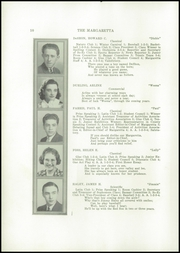Page 12, 1937 Edition, Machias High School - Margaretta Yearbook (Machias, ME) online yearbook collection