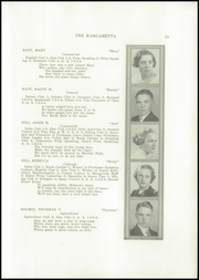 Page 13, 1937 Edition, Machias High School - Margaretta Yearbook (Machias, ME) online yearbook collection