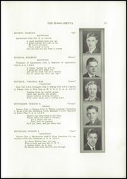 Page 15, 1937 Edition, Machias High School - Margaretta Yearbook (Machias, ME) online yearbook collection
