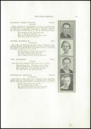 Page 17, 1937 Edition, Machias High School - Margaretta Yearbook (Machias, ME) online yearbook collection