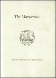Page 3, 1937 Edition, Machias High School - Margaretta Yearbook (Machias, ME) online yearbook collection