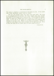 Page 9, 1937 Edition, Machias High School - Margaretta Yearbook (Machias, ME) online yearbook collection