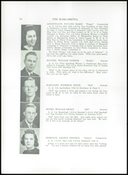 Page 14, 1940 Edition, Machias High School - Margaretta Yearbook (Machias, ME) online yearbook collection