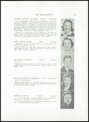 Page 15, 1940 Edition, Machias High School - Margaretta Yearbook (Machias, ME) online yearbook collection
