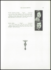 Page 17, 1940 Edition, Machias High School - Margaretta Yearbook (Machias, ME) online yearbook collection