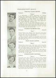 Page 11, 1954 Edition, Shead Memorial High School - Oracle Yearbook (Eastport, ME) online yearbook collection